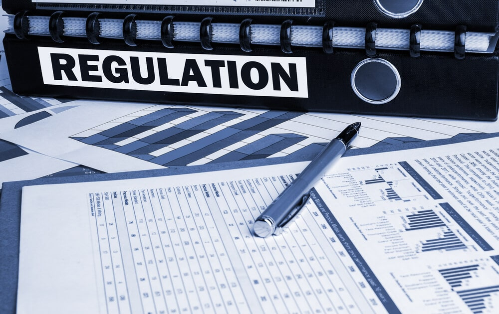 regulation folder and infographic documents