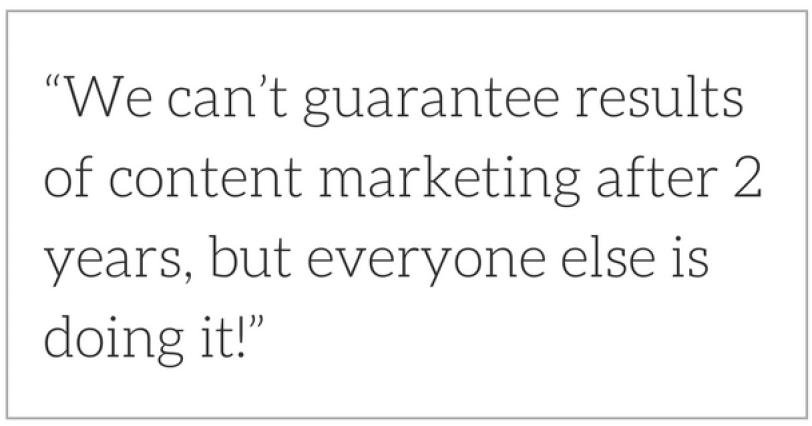 Prove ROI of content marketing for nonprofits