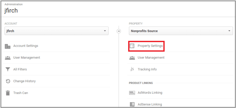 how to connect google analytics with search console