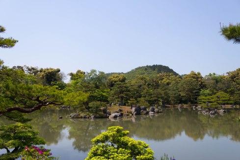 At the Rokuon-ji 鹿苑寺 Kinkaku-ji