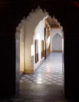 inside the Bahia Palace