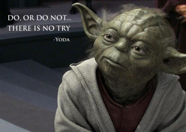 Quitting is easier with Yoda…   The happy Quitter!