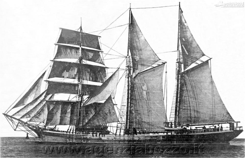 "Vecchie Vele, la nave goletta ""Antonio D'Alì"""