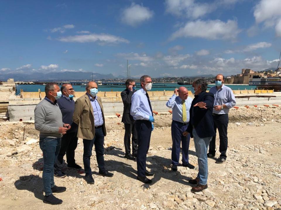 Porto di Castellammare del Golfo, riparte la messa in sicurezza