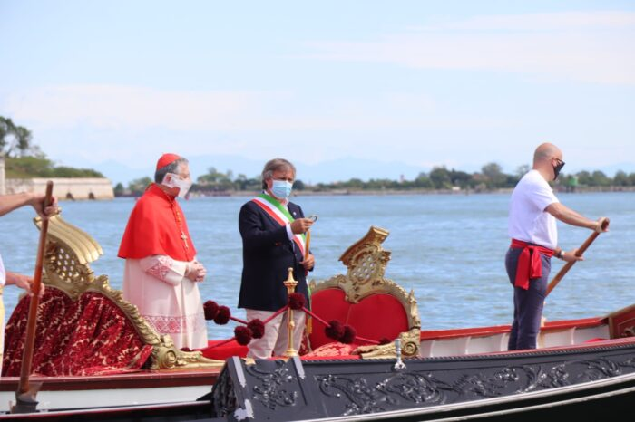 Venezia, festa della Sensa 2020: continua il rito dello sposalizio in mare