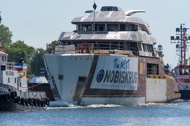 Nobiskrug Yacht, dalla Germania il superyacht di 62 metri Project 794