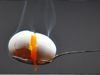 Ein Ei 4 Minuten