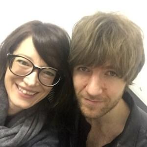Monica Mel of Global Rockstar and Mark Prendergast of Kodaline