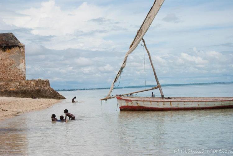 Ilha de Mozambico il mare