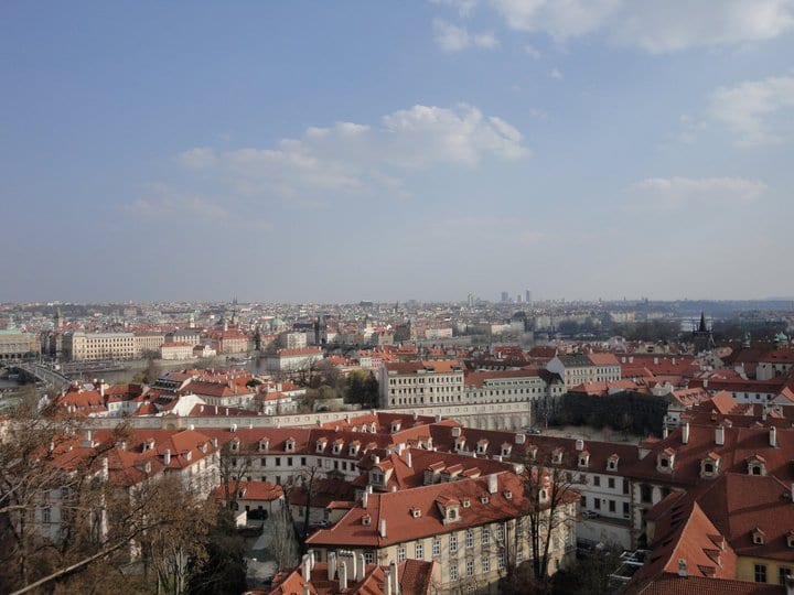 Praga, vista dal Castello