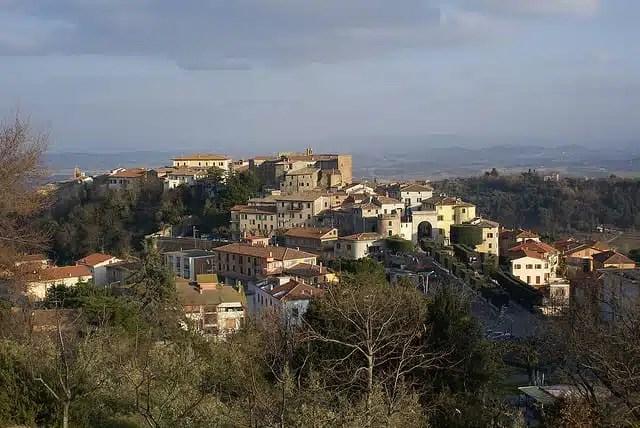 Il centro storico di Chianciano Terme (foto di nicdalic)