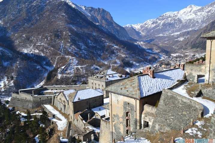 Val Chisone, vista dal Forte di Finestrelle
