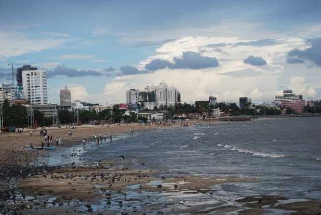 Chowpatti Beach - Mumbai. India