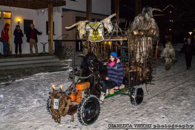 I krampus a Campo Tures