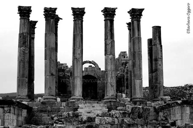 I resti del Tempio di Giove