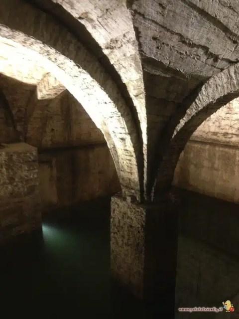 La cisterna sotto la città di Bergamo