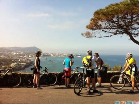 Ischia in mountain bike