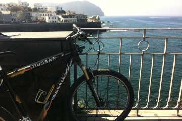 Ischia in mountain bike