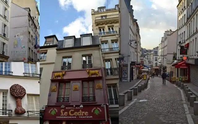 Rue Mouffetard, nel Quartiere Latino di Parigi