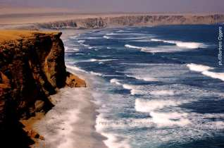 Il deserto di Paracas in Perù