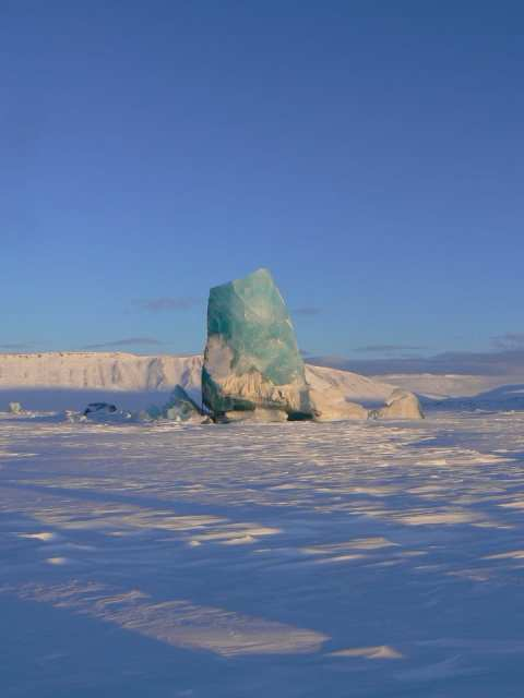 Iceberg, Circolo Polare Artico (foto di fuorifuori.org)