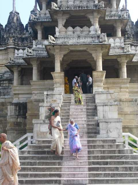 Il tempio giainista di Ranakpur