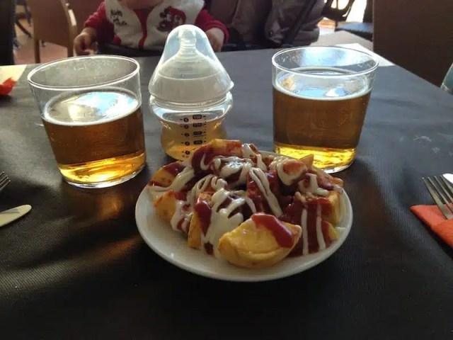Tapas y cerveza a Valencia