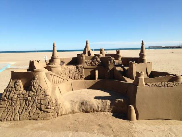 La spiaggia di Valencia