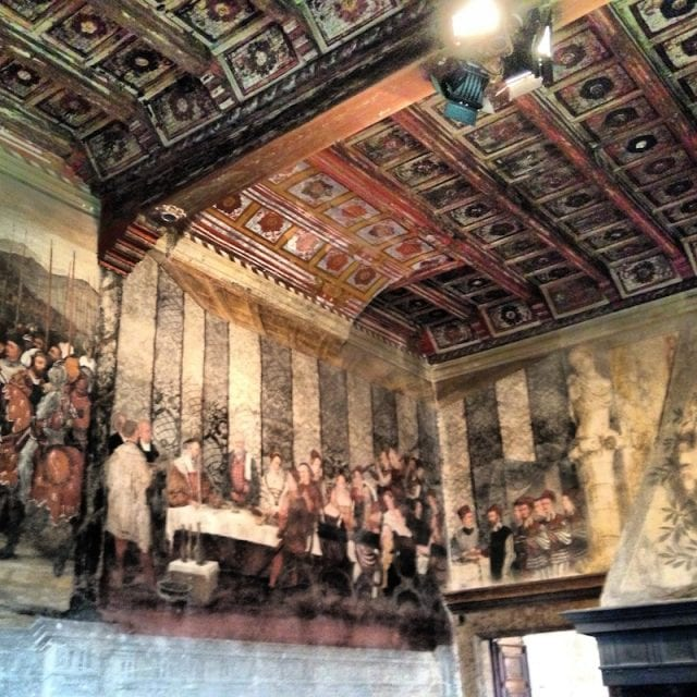 Gli affreschi del Castello di Malpaga a Bergamo