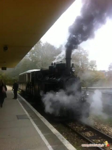 Il treno cittadino di Budapest
