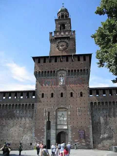 Castello Sforzesco a Milano (foto di Haritza Zubillaga)