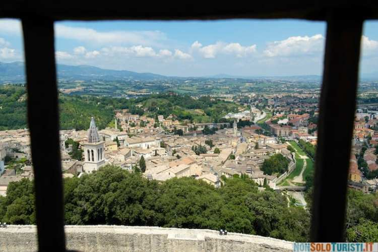 Panorama dalla Rocca di Spoleto