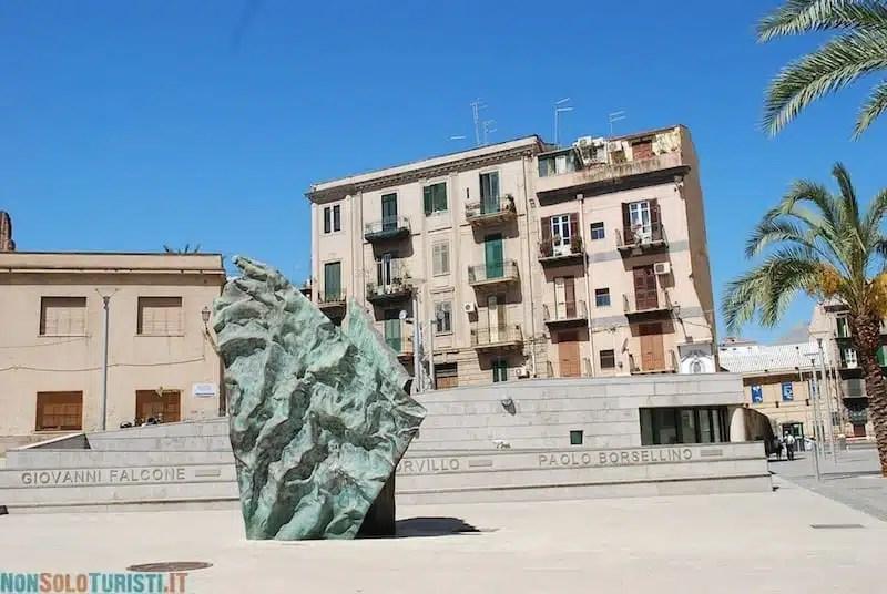 Monumento vittime della mafia, Palermo