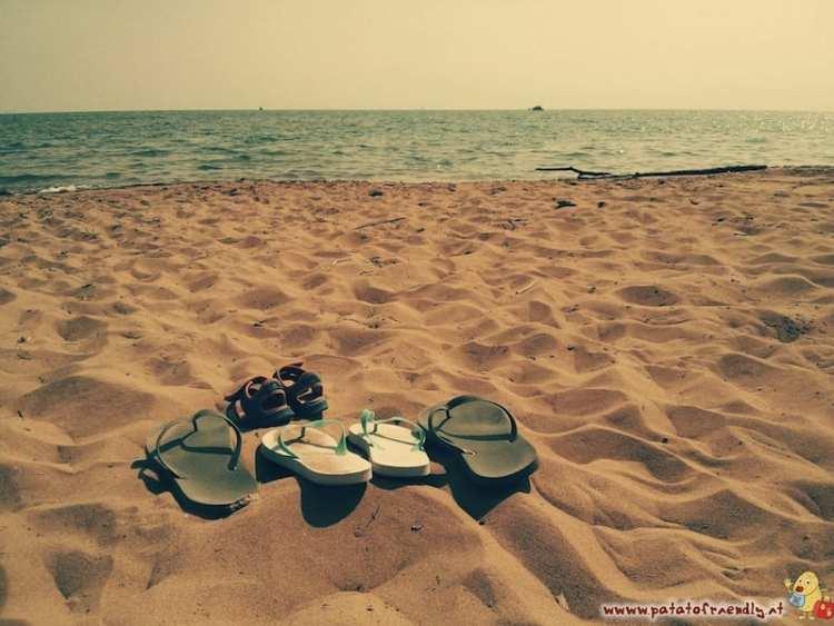 Bibione (VE) - tramonto in spiaggia
