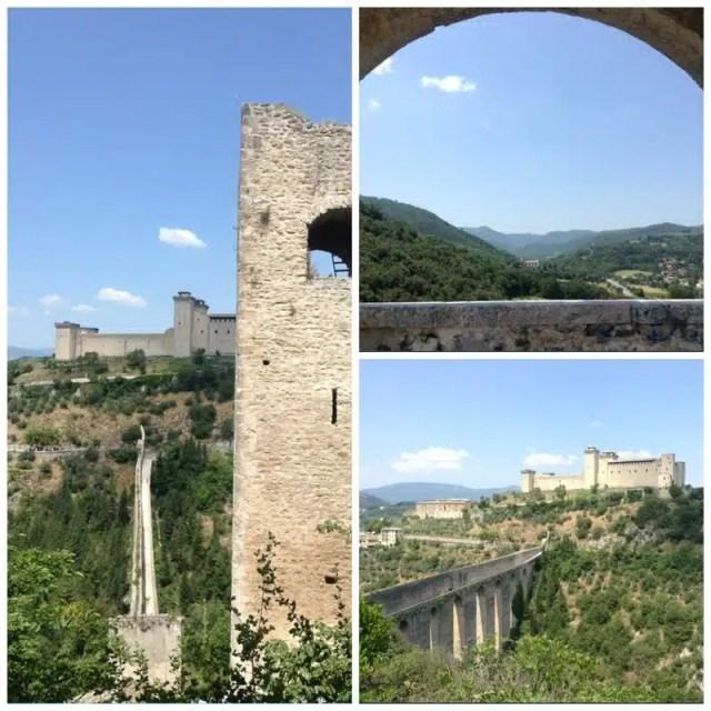 Spoleto, Umbria - Ponte delle Torri