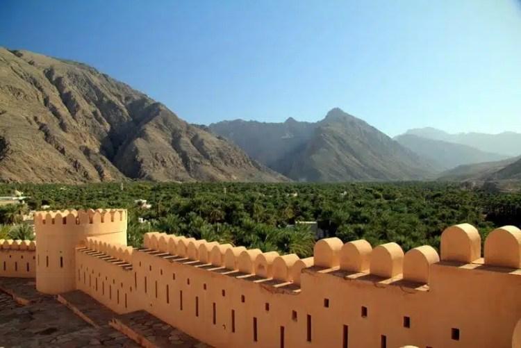 Forte di Nakal - Oman