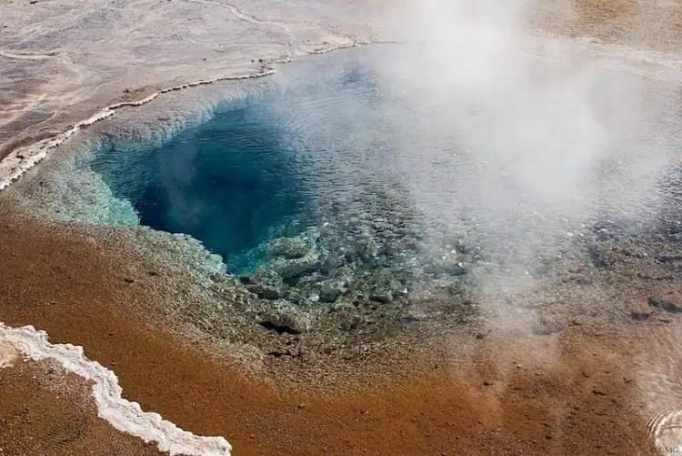 Fumarole, geyser - Islanda
