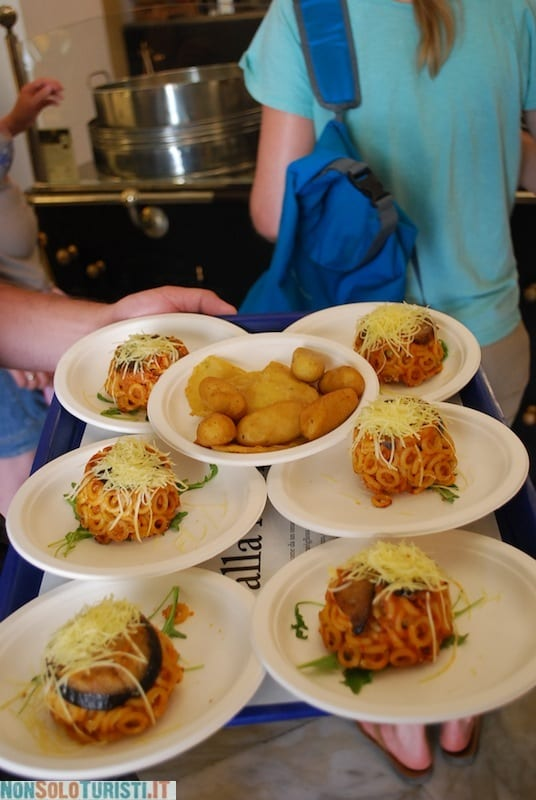 Panelle e crocchette - street food a Palermo