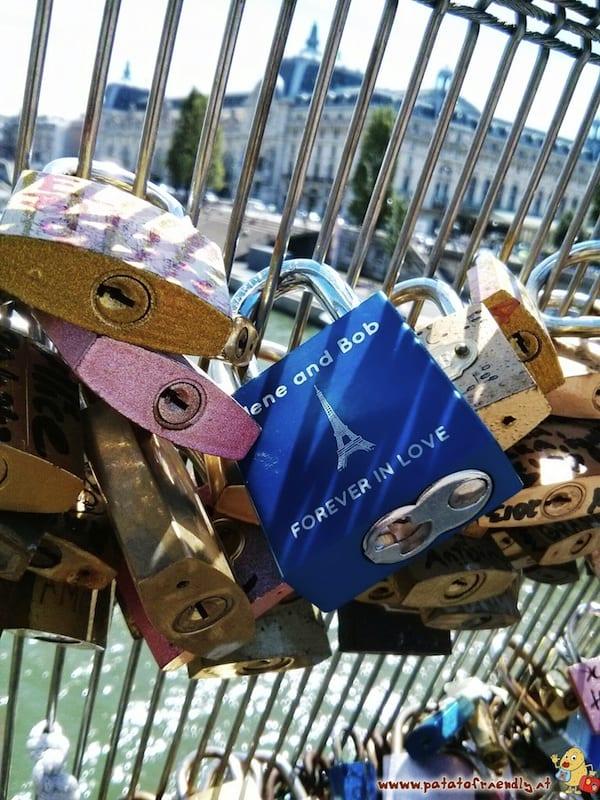 I lucchetti di Parigi