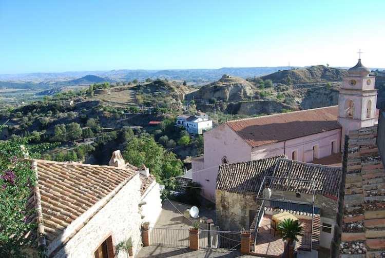 Vista dal Palazzo dei Poeti - Tursi, Basilicata (Italy)
