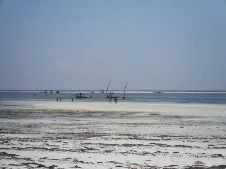Bassa marea - Diani, Kenya