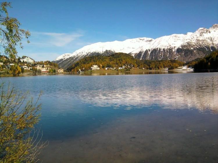 Il lago di St. Moritz - Svizzera