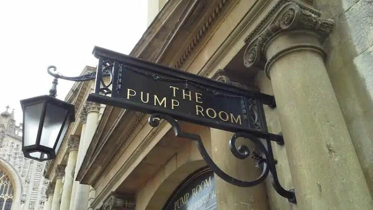 Pump Room, Bath - Inghilterra, Regno Unito