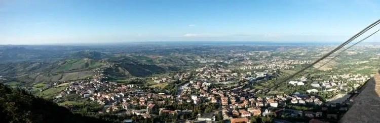 Vista da San Marino