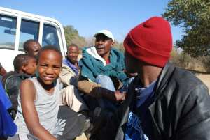 Autostop in Botswana