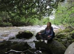 Meditazione - fiume San Lorenzo, Canada