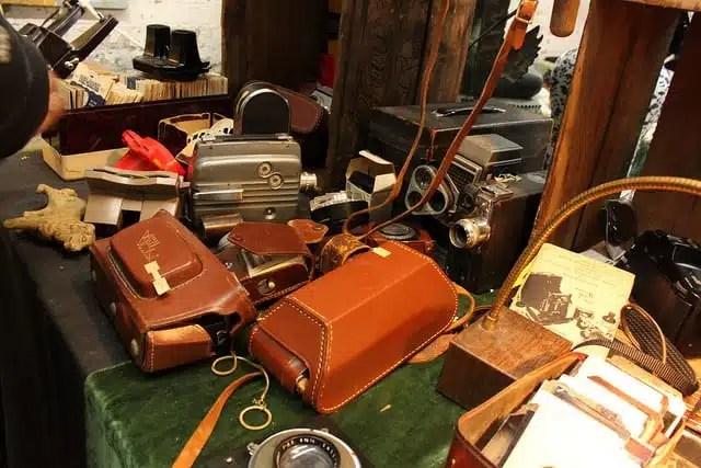 Chelsea Antiques Garage - New York City, USA