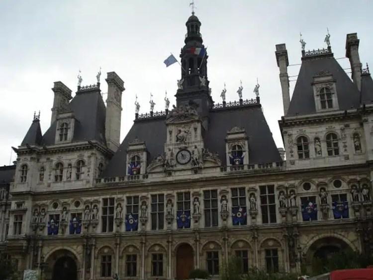Hotel de Ville - Parigi, Francia