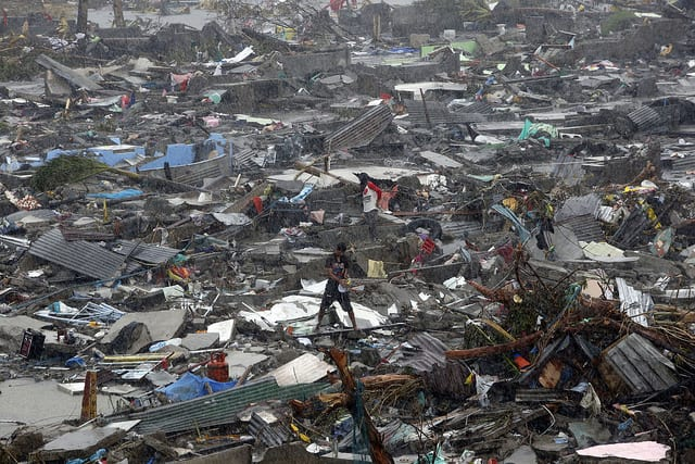 Tifone Haiyan - Filippine