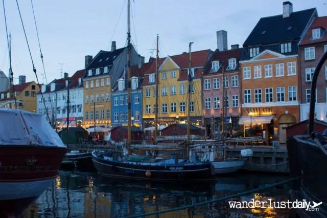 Nyhavn - Copenaghen, Danimarca